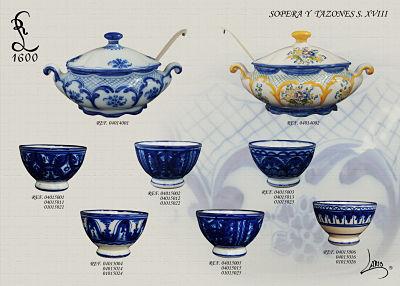 Productos de ceramica lario artesanos desde 1600 for Productos para ceramica